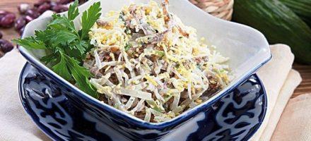 Салат Ташкент – рецепт классический