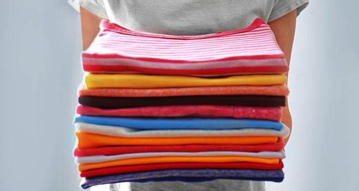 Как правильно складывать футболки