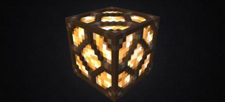 Как сделать лампу в Майнкрафт