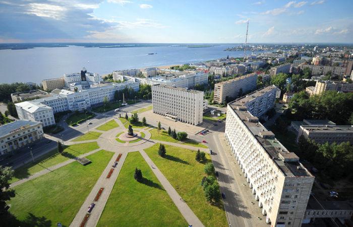 Где находится Архангельск