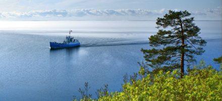 Где находится Ладожское озеро