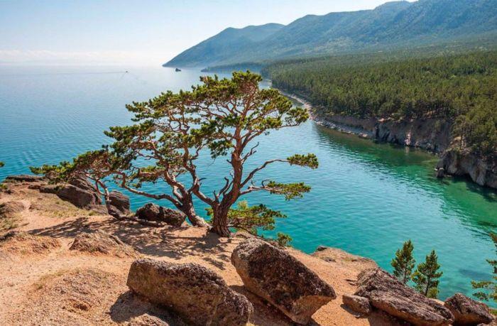 Где находится озеро Байкал