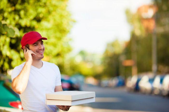 Как заказать доставку еды?