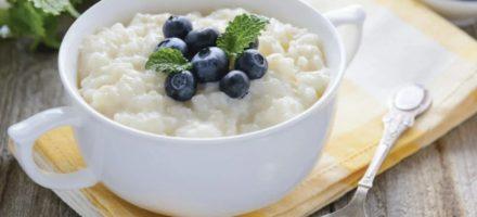 Как варить рисовую молочную кашу