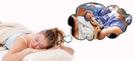 К чему снится рождение ребенка у себя