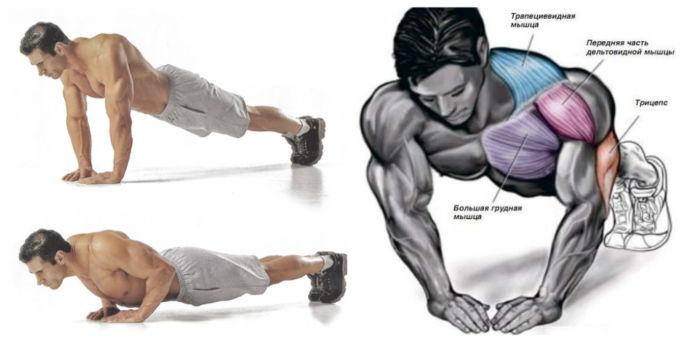 Как накачать грудные мышцы дома