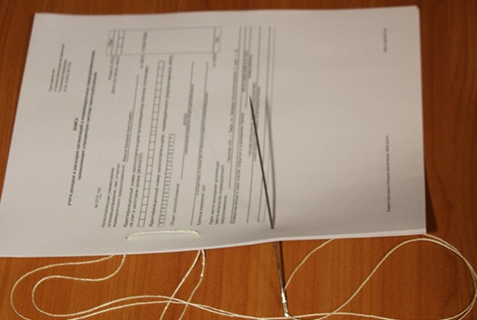 Как правильно прошить документы нитками пошаговая инструкция