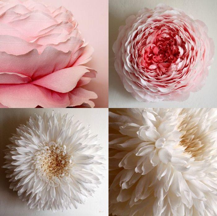Как сделать из бумаги цветы