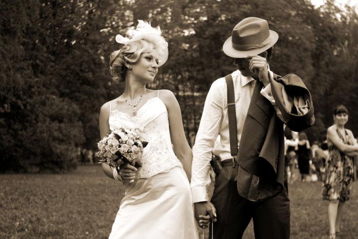 Выбрать стиль свадьбы