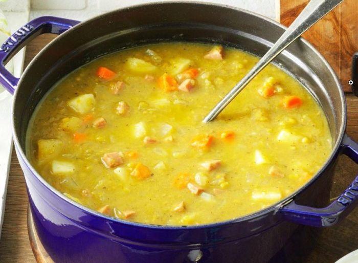 Как приготовить гороховый суп с мясом