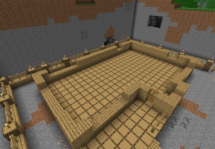 Как построить замок в Майнкрафте
