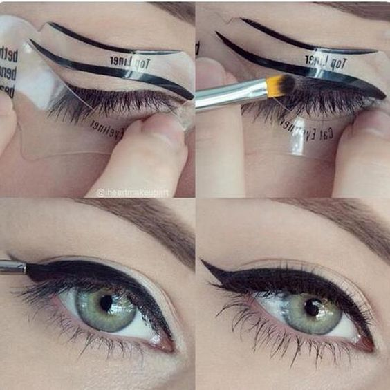 Как правильно рисовать стрелки на глазах подводкой