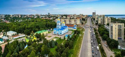 Где находится Ульяновск на карте России