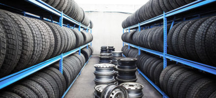 Как правильно хранить шины без дисков
