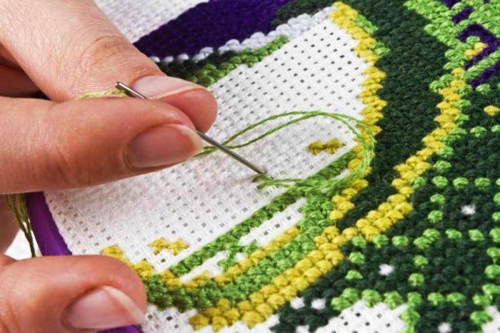 Как правильно вышивать крестиком