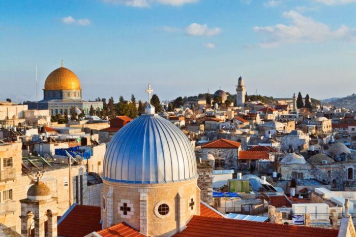 Где находится Иерусалим