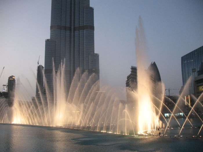 Где находится Дубай