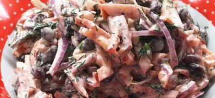 Салат «Фасолька» на зиму