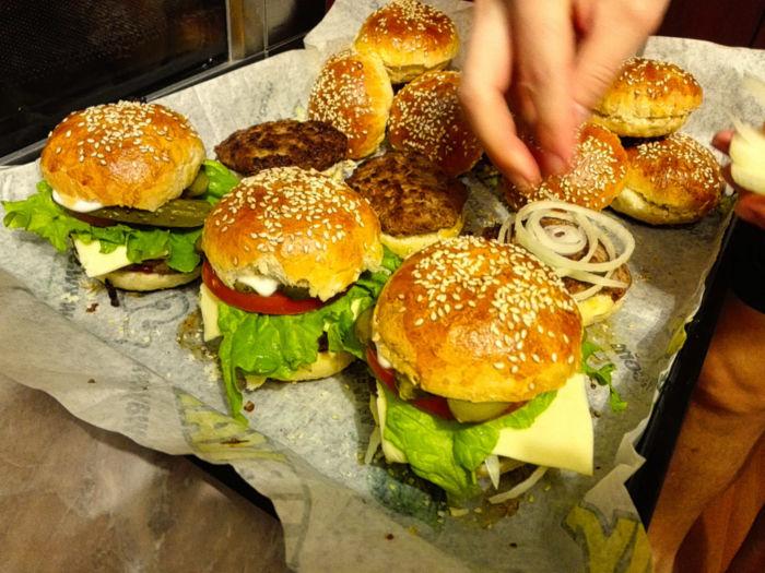 Как сделать бургер дома