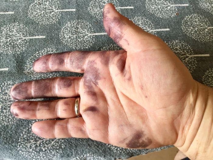 Как отмыть чернила принтера