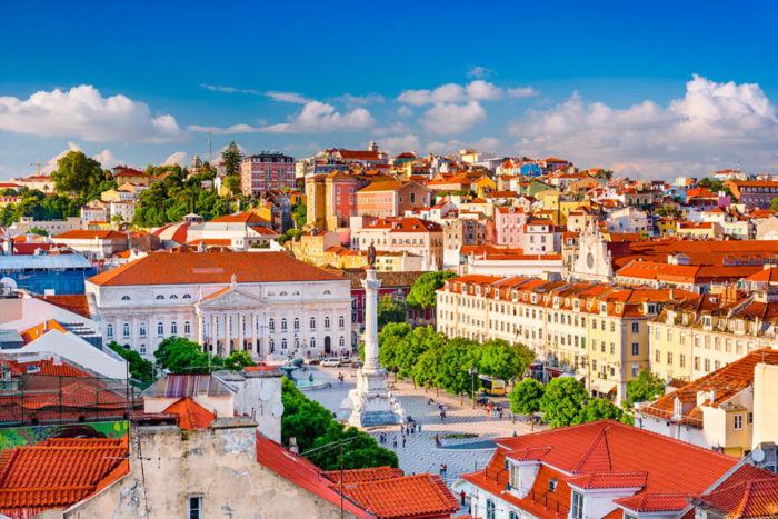Свадебное путешествие в старинный город Лиссабон