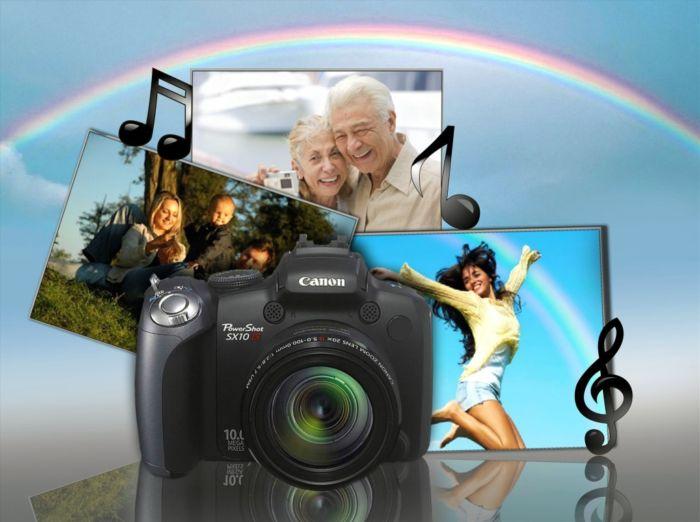 Сделать из фото видео с музыкой