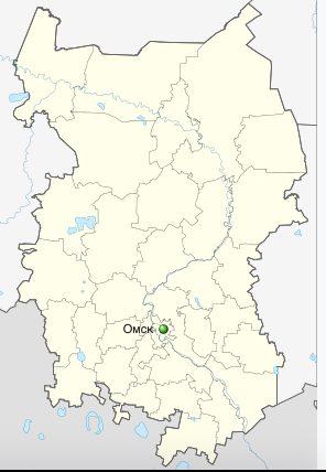 Где находится Омск