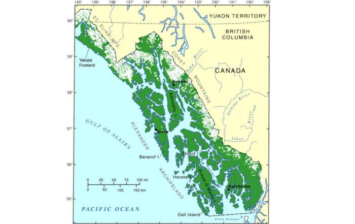Где находится Аляска