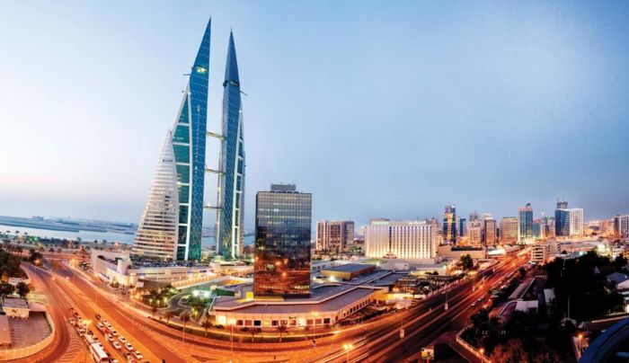 Где находится Бахрейн