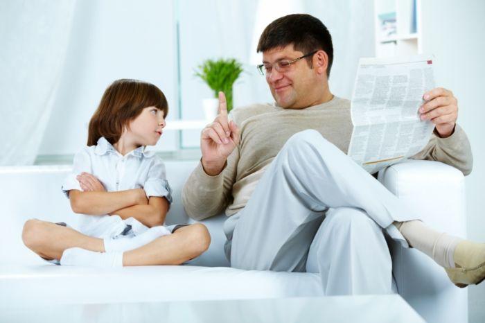 Как правильно сказать ребенку «нет»