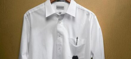 Чем вывести чернила с одежды