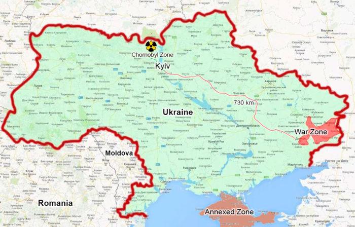 Где находится Чернобыль