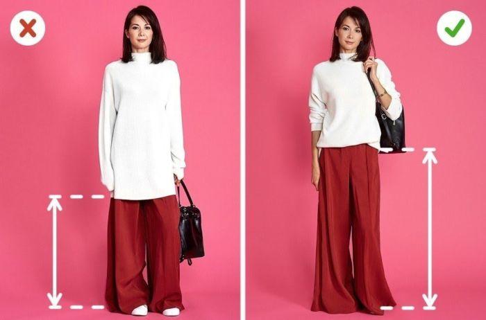 Как стать выше с помощью одежды