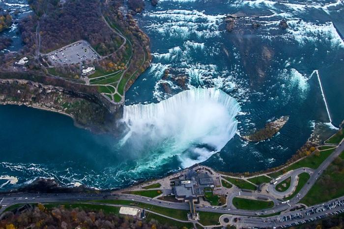 Где находится Ниагарский водопад