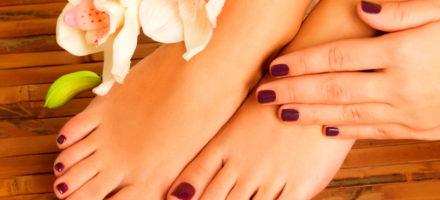 Маникюр и педикюр — наращенные ногти