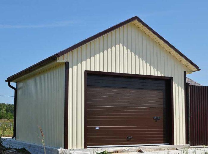 Как построить гараж дешево и быстро своими руками