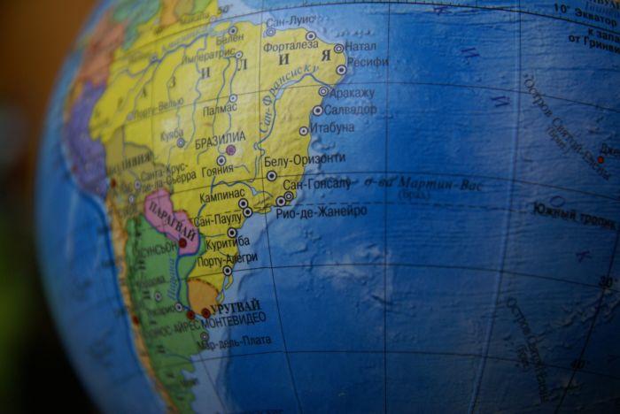 Где находится Южная Америка