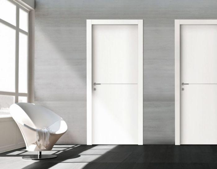 Белая дверь – французская элегантность