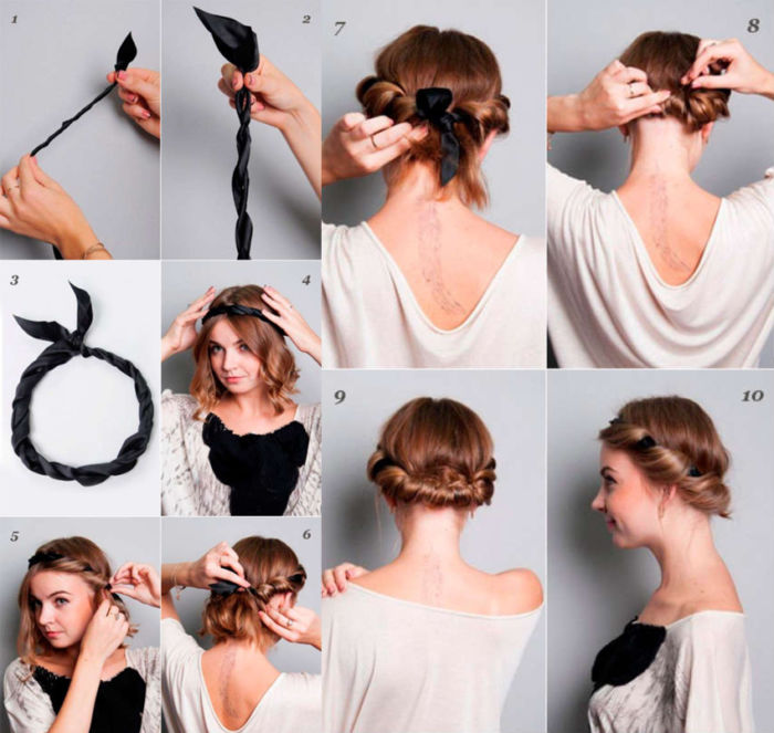 Как сделать причёску