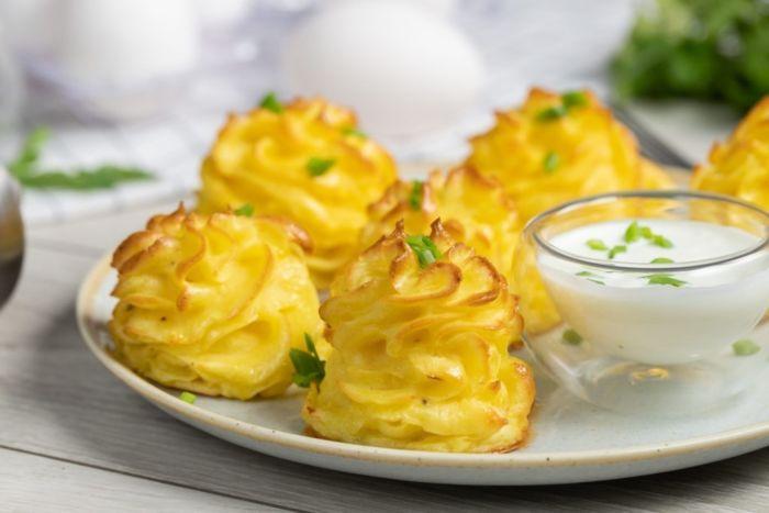 Приготовить гарнир из картофеля