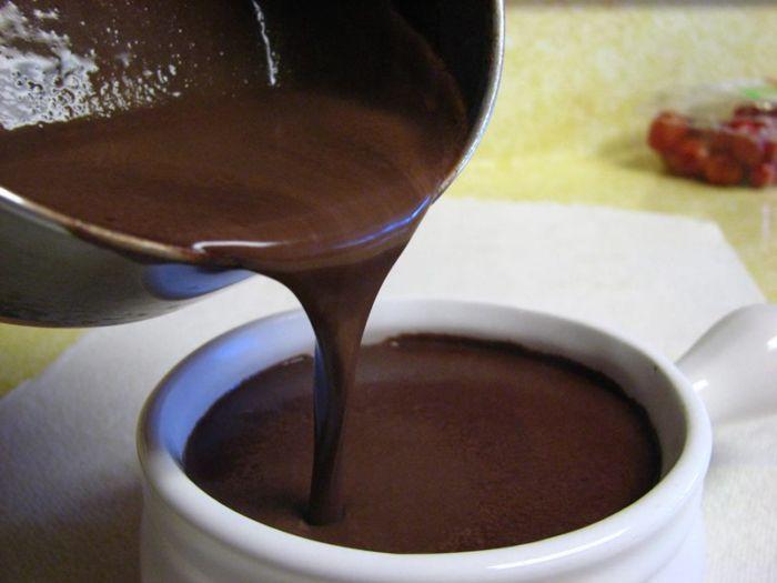 Как сделать горячий шоколад в домашних условиях