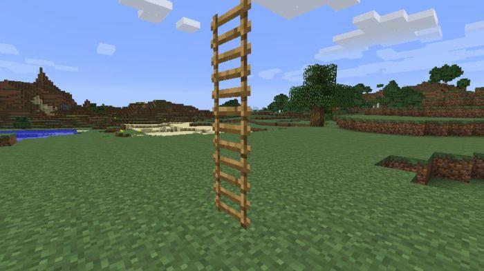Как сделать лестницу в Майнкрафте