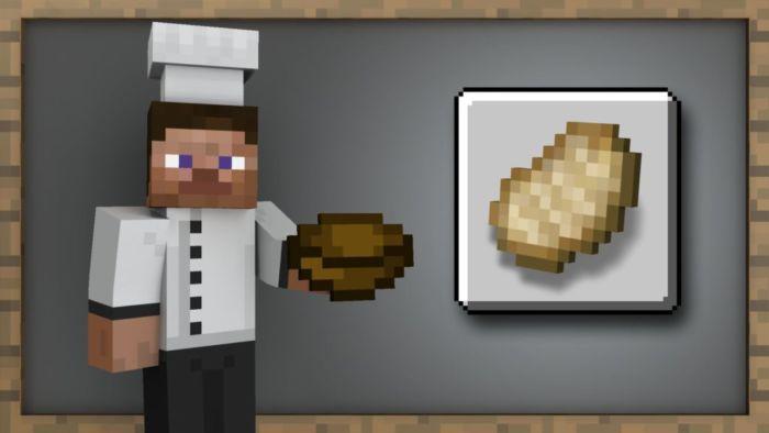 Как сделать хлеб в Майнкрафте