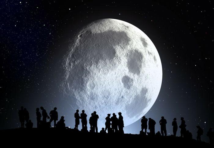 Луна. Изучение и происхождение.