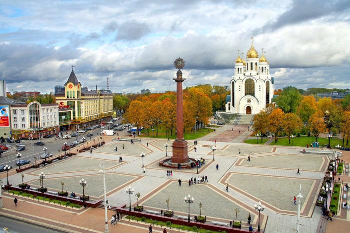 Где находится Калининград
