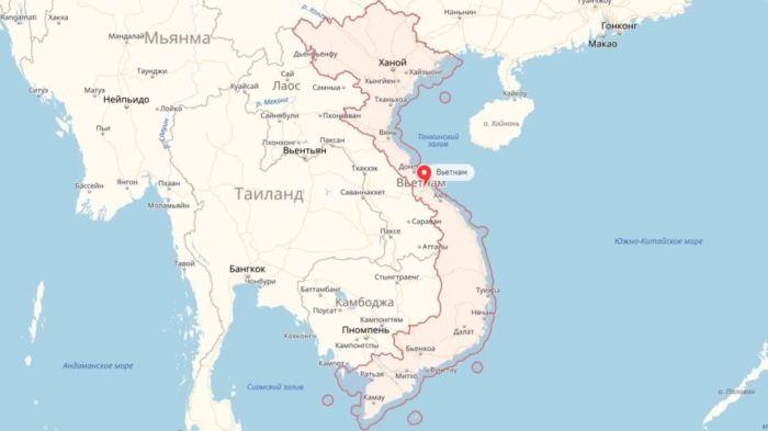 Где находится Вьетнам