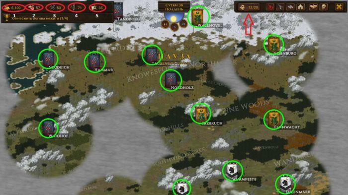 Как играть в Battle Brothers, Часть 2 - Общий интерфейс