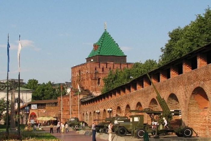 Где находится Нижний Новгород