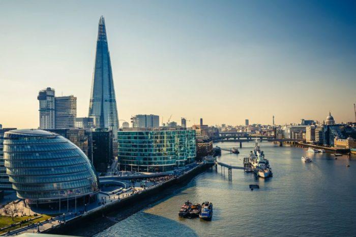 Где находится Лондон