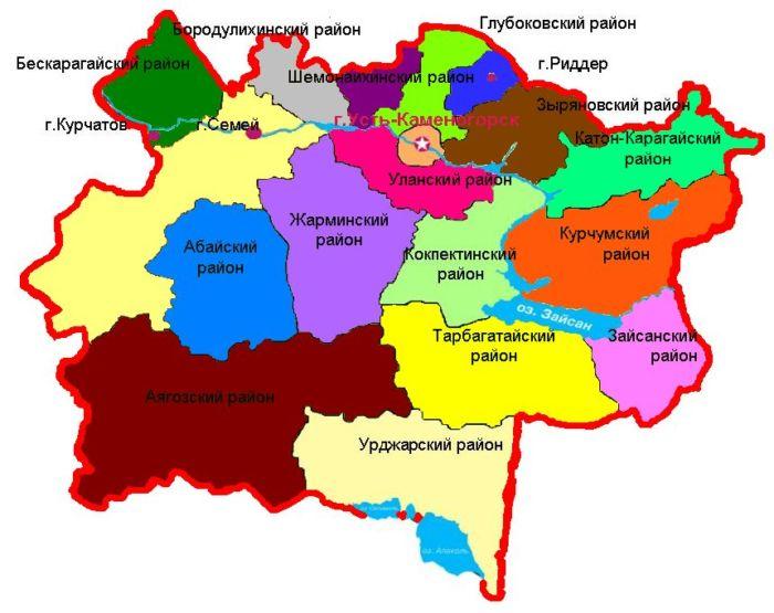 Где находится Семипалатинск?